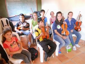 Geigenunterricht mit Sebas