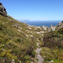 Ausblick vom Berg aus 2